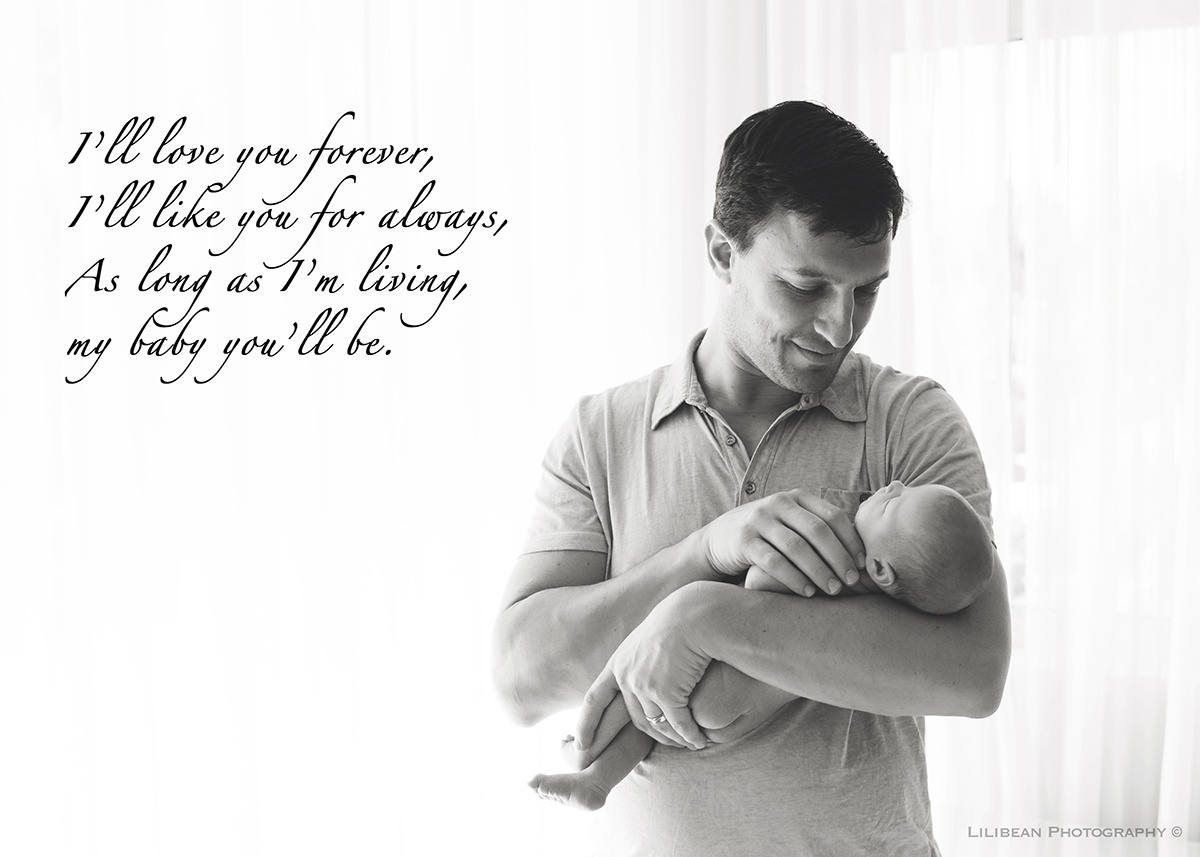 Father Son Love Quotes Miami Newborn Photographer  Lilibean Photography