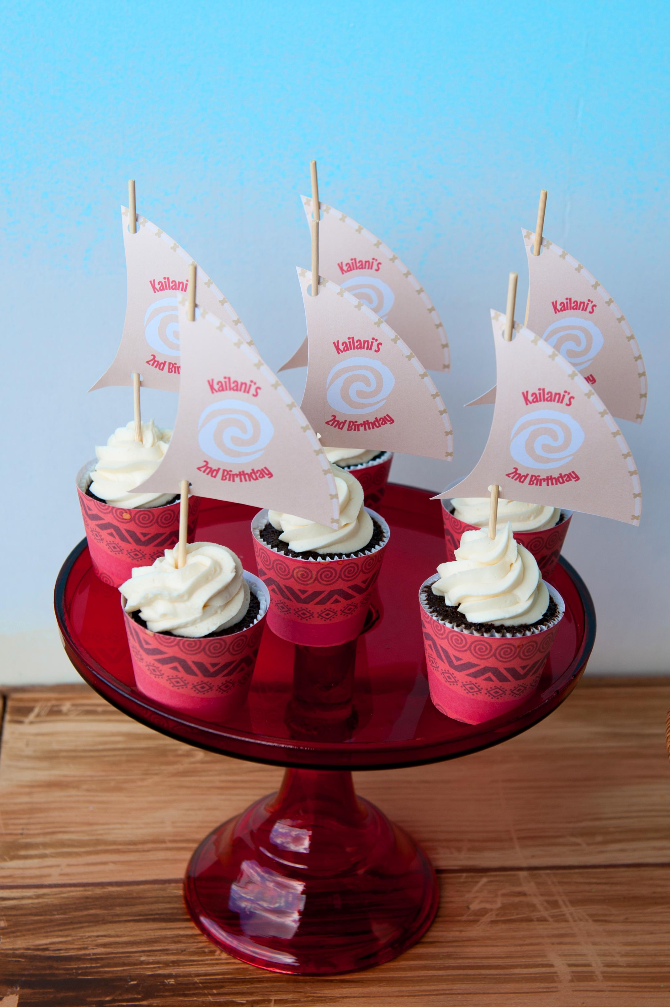 Moana Themed Birthday Party Caked By Cynthia White